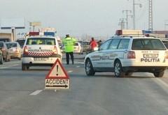 Accident pe DN1, la Baicoi. Trei masini implicate. Intervine SMURD