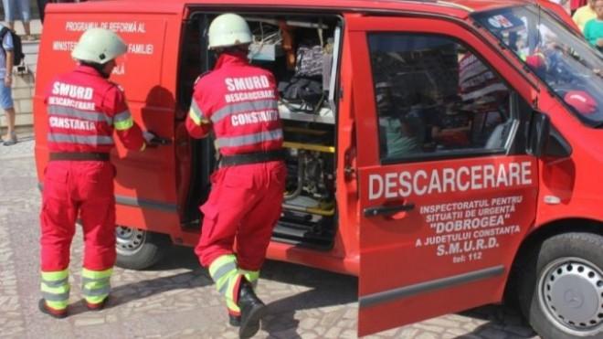 Accident in Ploiesti, pe strada Vega. Intervine un echipaj de la descarcerare