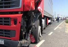 ALERTĂ Trafic BLOCAT în București după ce o femeie a fost călcată de un TIR
