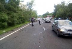 Accidente pe DN1, la Nistoresti si Floresti. 4 persoane au ajuns la spital