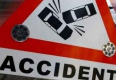 Accident pe DN1, la Romanesti, provocat de un sofer care a intors neregulamentar