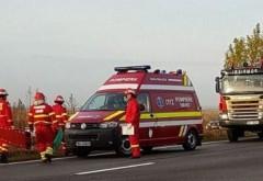 Accident pe DN1, la Potigrafu. 3 victime