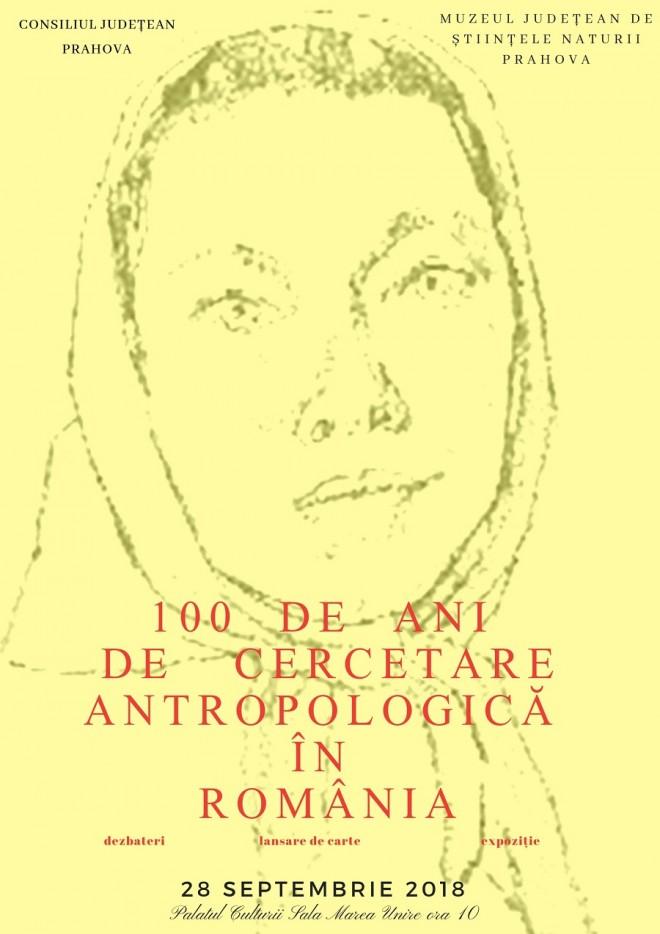 """Simpozion la Muzeul Judeţean de Ştiinţele Naturii Prahova: """"100 DE ANI DE CERCETARE ANTROPOLOGICĂ ÎN ROMÂNIA"""""""