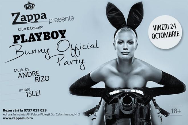 INCENDIAR! Petrecere Playboy Bunny în Club Zappa Ploieşti, în această seară
