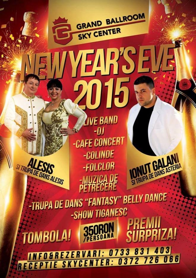 REVELION 2014. Petrece o seară de neuitat la Sky Grand Ballroom