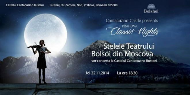 Concert extraordinar la Castelul Cantacuzino din Buşteni