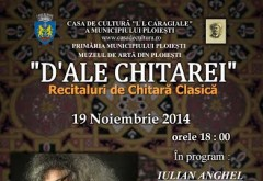 Concert de chitară clasică în Ploieşti