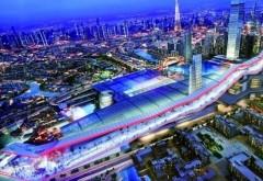 Partia de schi de 1,2km din mijlocul desertului. Proiectul SF prin care seicii din Dubai vor sa atraga noi turisti