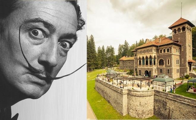 Operele lui Salvador Dali mai stau o săptămână la Castelul Cantacuzino