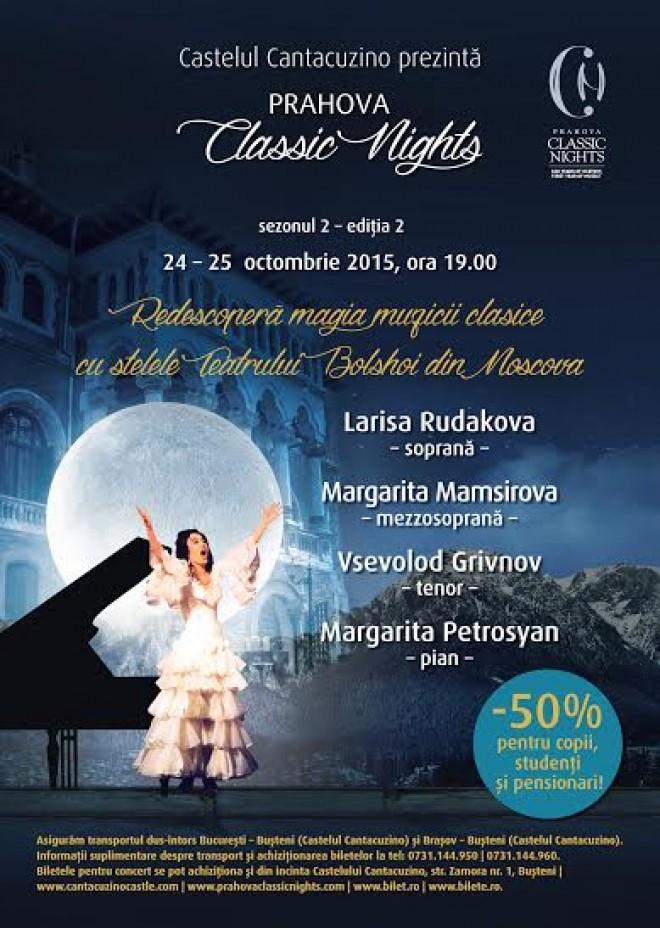 Prahova Classic Night la Castelul Cantacuzino din Busteni