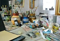 Atelier de pictură pentru copiii din Vălenii de Munte