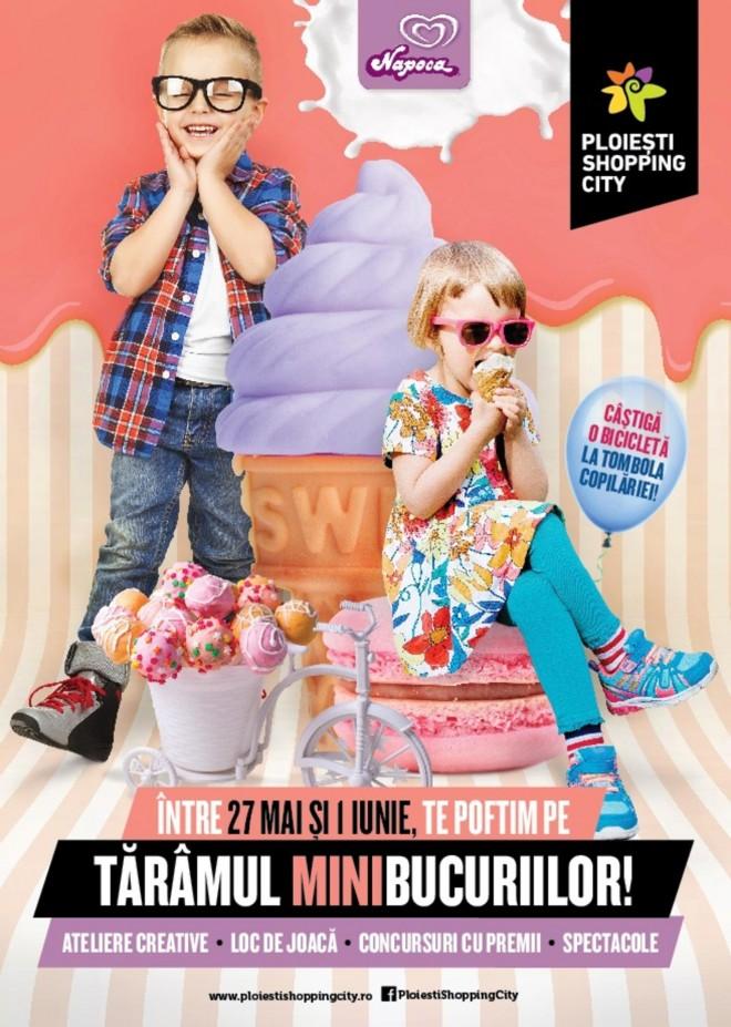 Evenimente dedicate copiilor la Ploiești Shopping City
