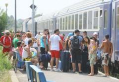"""CFR a lansat """"trenurile soarelui"""". Cât va costa drumul până pe litoral"""