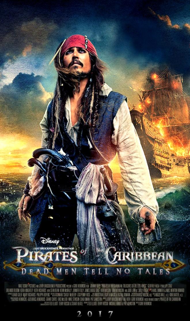 """Primul trailer pentru """"Piraţii din Caraibe 5"""" a fost lansat. In cinematografe din 26 mai 2017"""