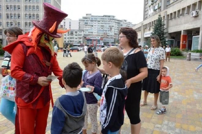 Spectacole de teatru gratuite pentru copiii din Ploieşti
