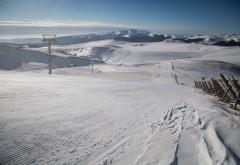 Veste bună pentru iubitorii muntelui! Se deschid pârtii de altitudine la Sinaia