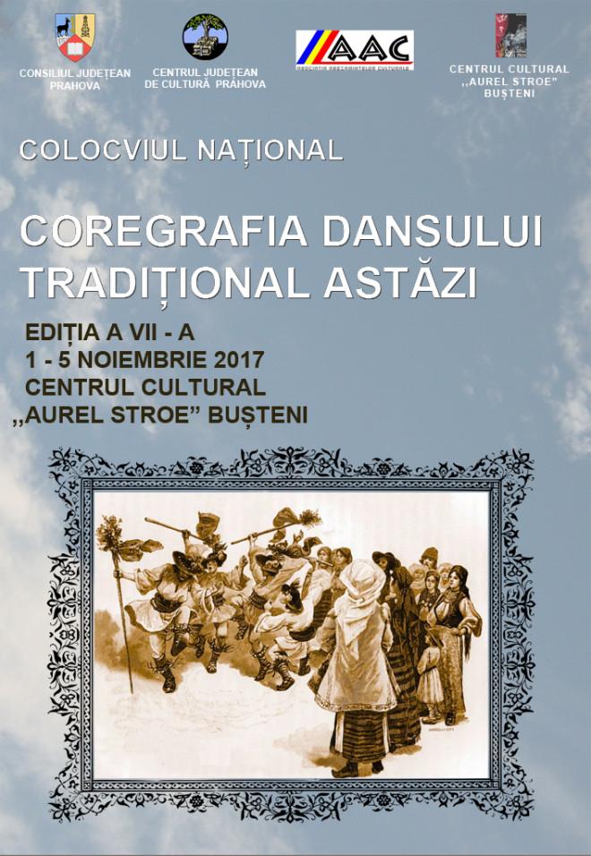 """Vezi cand are loc cea de-a VII-a ediție a Colocviului """"Coregrafia Dansului Tradițional Astăzi"""""""