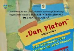"""Vernisajul Tabărei Internaţionale de Creaţie Plastică """"Dan Platon"""" va avea loc pe 6 septembrie, la Galeria de Arta Ploiesti"""