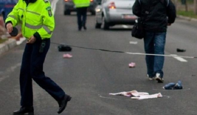 Accident in Ploiesti, pe strada Transilvaniei. O tanara a fost transportata la spital