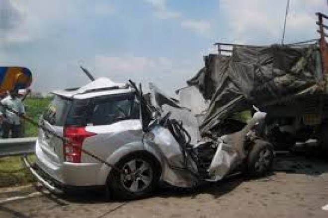 Accident pe DN1 B, la iesire din Mizil
